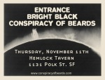 Hemlock Tavern w/Entrance, Bright Black