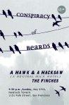 Hemlock Tavern, w/A Hawk a Hacksaw, The Finches