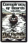 Conspiracy of Beards at The Riptide Saturday, January 26th - 9pm