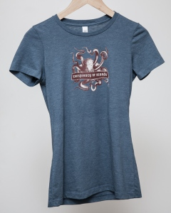 COB T-Shirt - Blue Octopus