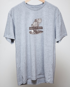 COB T-Shirt - Grey Wolf - Men's