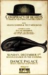 Dance Palace 2013, w/Arann Harris & Sylvie Simmons