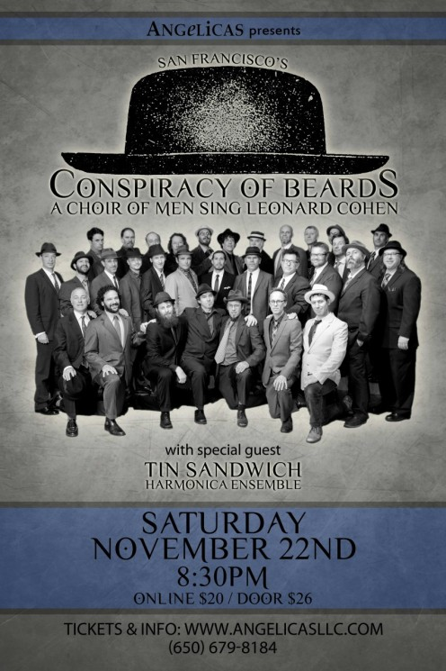 Conspiracy of Beards - Angelicas Poster 11.22.2014